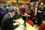 Anthony Horowitz book signing