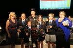 The 2015 Australian Winners with Nicole Deans, Wayne Mills and their Coach