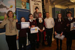 Runners-Up Litcham School with their certificates
