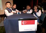 Clementi Primary School, winners of the 2015 Singapore National Final