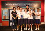 Methodist Girls' School, winners of the 2016 Singapore National Final