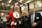 The Sheriff of the City of London with Jacky and Rick Atkinson