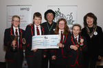 Enniskillen Royal Grammar School and The Cheque!