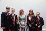 Enniskillen Royal Grammar School with author Kathryn Evans
