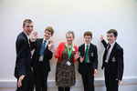 Ermysted's Grammar School with author Moira McPartlin