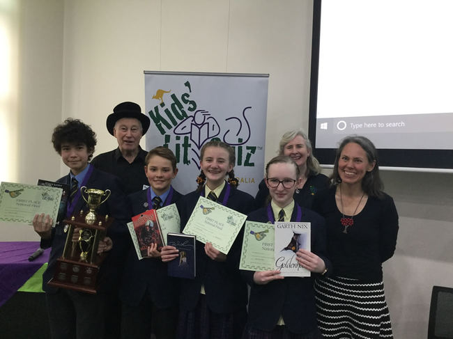 Blue Mountains Grammar, winners of the KLQ Australia National Final 2019