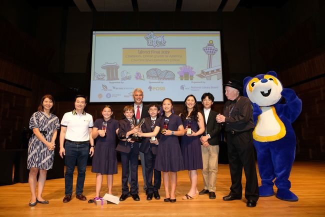 Churchill Road Elementary School (USA), winners of the 2019 KLQ World Final