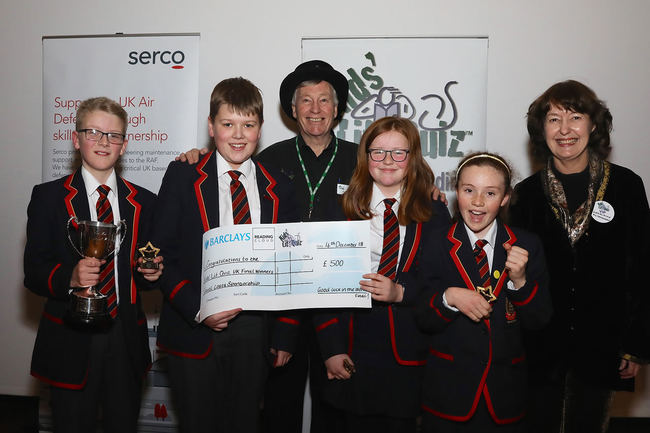 Enniskillen Royal Grammar School, winners of the 2018-19 UK National Final