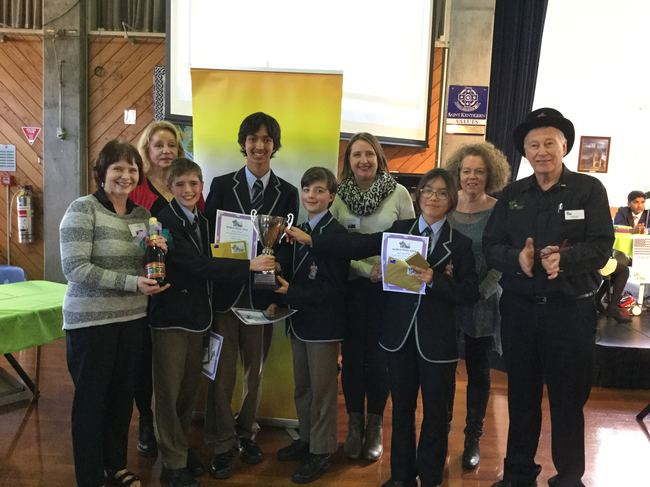 Canberra Grammar, winners of the 2018 KLQ World Final