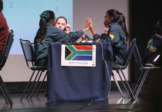 Manor Gardens, winners of the 2015 South Africa National Final, at the World Final