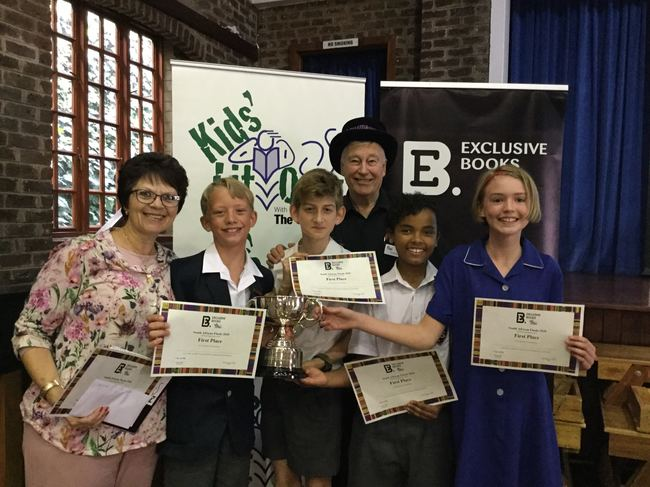 Parkview Senior School, winners of the 2020 South Africa National Final