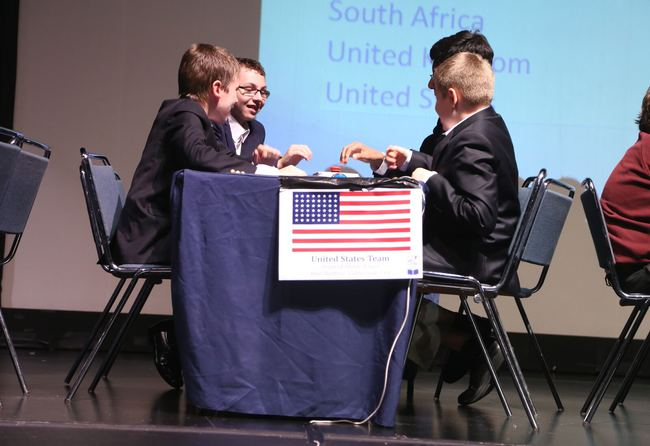 Sedgwick School, winners of the 2015 USA National Final, competing at the 2015 World Final