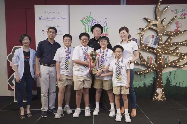 St Joseph's Institution Junior, winners of the 2017 Singapore National Final