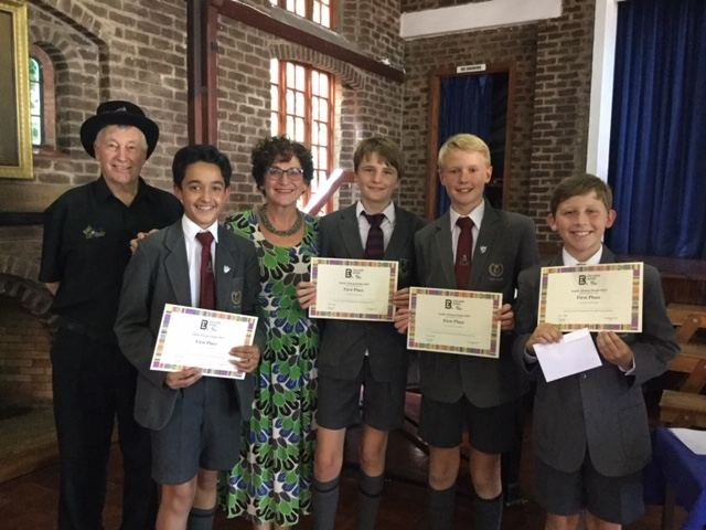 St John's College, winners of the 2019 South Africa KLQ National Final