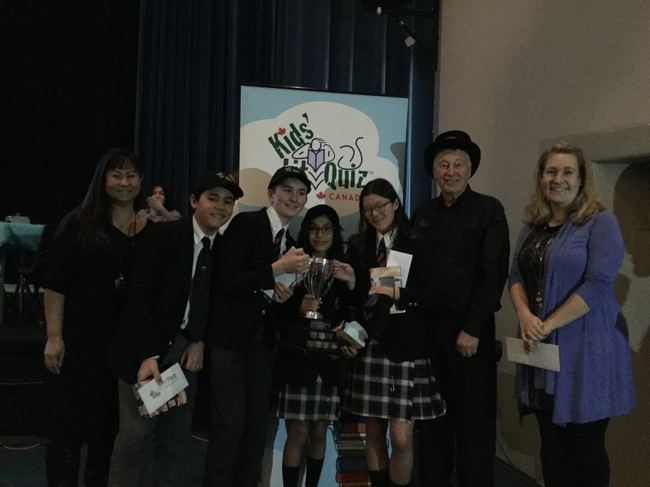 St Michael's University School, winners of the 2020 Canada National Final